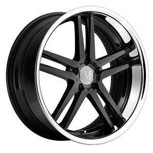 Simplex black chrome